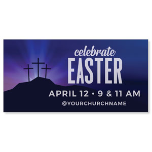 Aurora Lights Celebrate Easter ImpactBanners