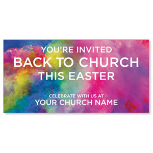 Back to Church Easter ImpactBanners