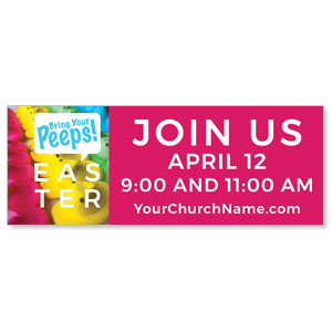 Bring Your Peeps ImpactBanners