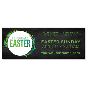 Easter Palm Crown ImpactBanners