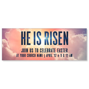 He Is Risen Bold ImpactBanners