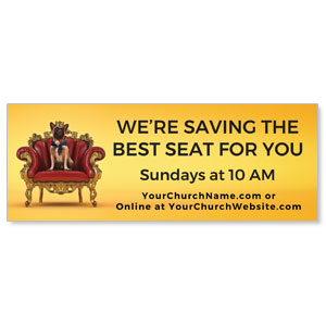 Saving A Seat For You ImpactBanners
