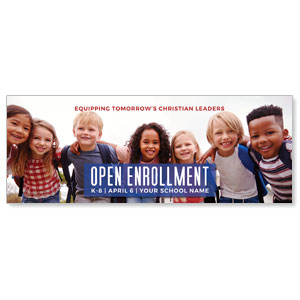 Kids Enroll Together ImpactBanners