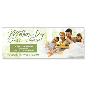 Online Mother's Day In Bed ImpactBanners