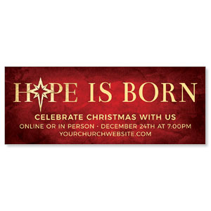 Hope Is Born Star ImpactBanners