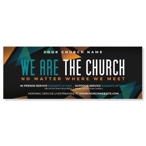 We Are The Church ImpactBanners