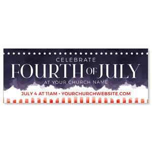 Fourth of July Paint ImpactBanners
