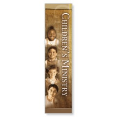 Ministry Faces - Children Banner