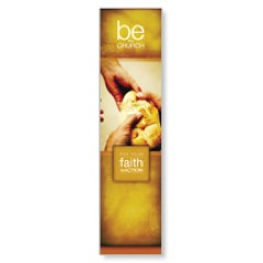 Be the Church Gold Banner