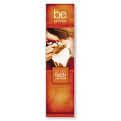 Be the Church Orange Banner