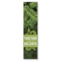 Together for the Holidays Green Banner