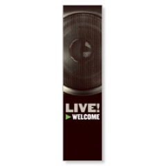Live 2' x 8' Banner