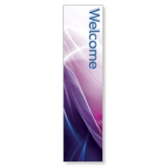 Swirls Welcome Banners