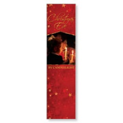 Christmas Eve Candles Banners