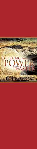 Banners, Easter, Experience Easter Power, 2' x 8'