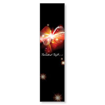 Glowing Christmas Bow Banner