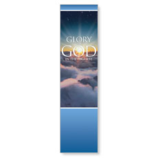 Glory to God Banner