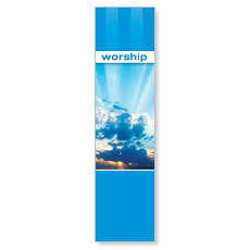 Stripes Worship Banner