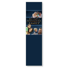 Courageous Family Blue Banner
