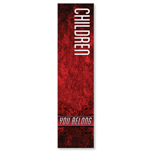 You Belong Children Banners