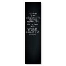 Chalk Prov 18:15 Banner
