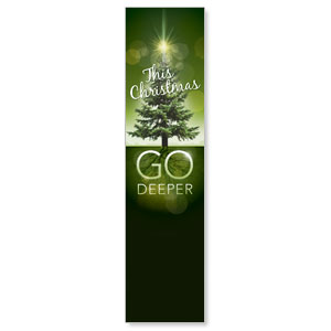Go Deeper Christmas Banners