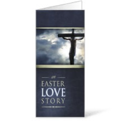 Easter Love Story 11x17 Bulletins