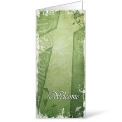 Vintage Green Bulletin