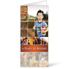Belong Fall  11 x 17 Bulletins