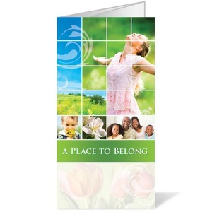 Belong Spring - 11 x 17 Bulletins