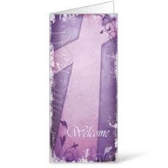 Vintage Purple Bulletin