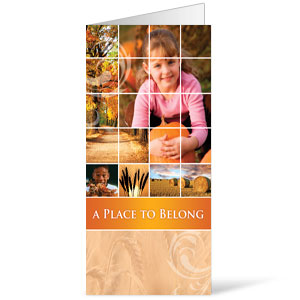 Belong Pumpkin  11 x 17 Bulletins
