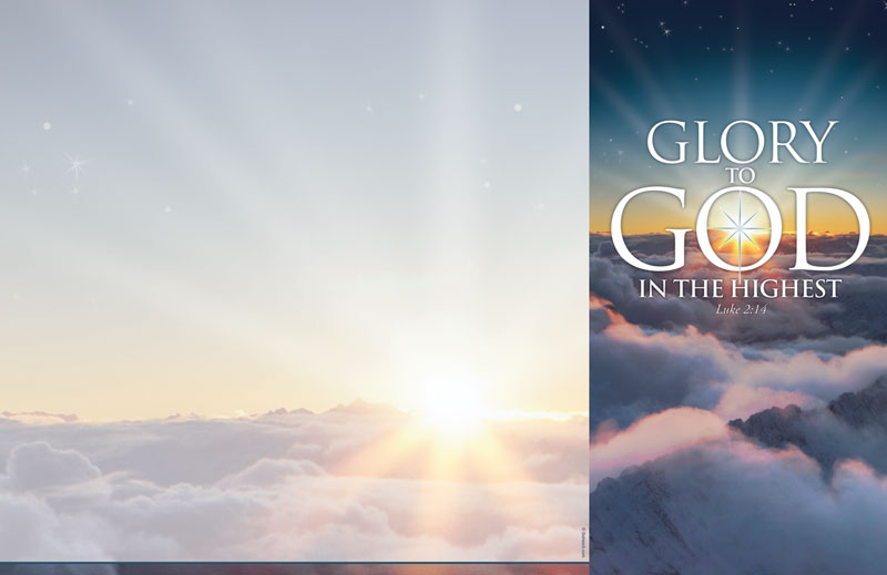 Glory To God Bulletin Church Bulletins Outreach Marketing