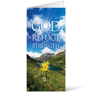 Refuge and Strength  11 x 17 Bulletins