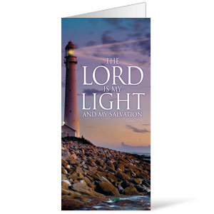 Lord Is My Light 11 x 17 Bulletins