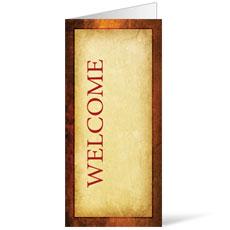 Verses Welcome Bulletin