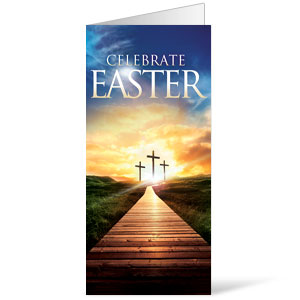 Easter Crosses Path  11 x 17