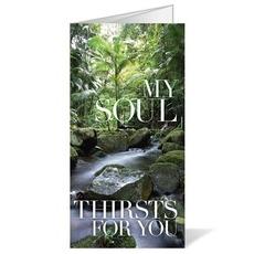 My Soul Thirsts Bulletin