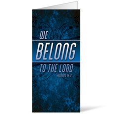 We Belong to the Lord Bulletin