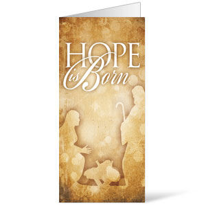 Hope is Born - 11 x 17 Bulletins