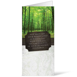 Fresh Air Woods 11 x 17 Bulletins