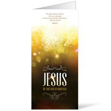 Jesus True Light Bulletin