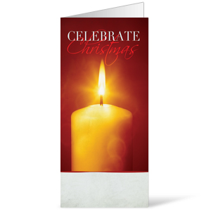 Celebrate Christmas Candle Bulletins