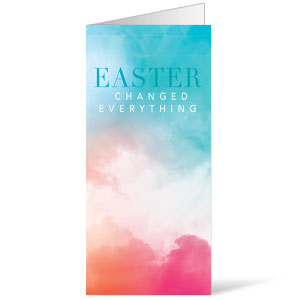 Easter Color - 11 x 17 Bulletins