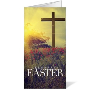 Celebrate Easter Cross Bulletins
