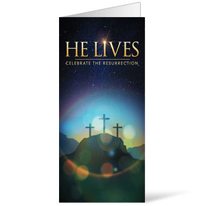 He Lives Crosses Bulletins