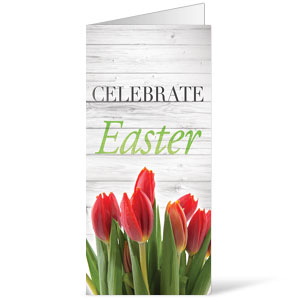 Easter Invited Wood Bulletins