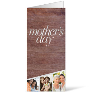 Mothers Day Invite Bulletins