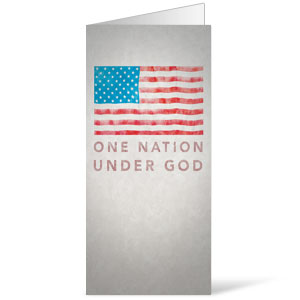 Under God 11 x 17 Bulletins