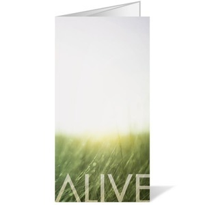 Alive Easter Bulletins